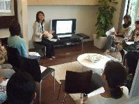 平成20年、熊本市内で開催した、住宅メーカー主催のセミナー風景